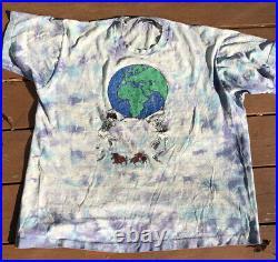 Vintage 1993 Grateful Dead Summer Tour Concert T-shirt XL Shakedown Street