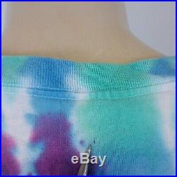 Vintage 1993 Grateful Dead T Shirt 90s Tie Dye Dubois Tee Winter Concert Tour XL