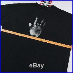 Vintage 1993 Jerry Garcia T-Shirt Mens L / XL Grateful Dead 90's RARE Graphic