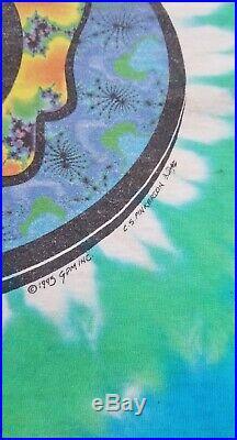 Vintage 1993 Liquid Blue Grateful Dead Steal Your Fractal T Shirt Size L
