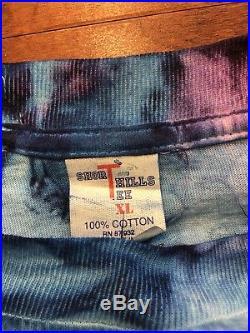 Vintage 1994 Grateful Dead Tie Dye Summer Tour Shirt Large