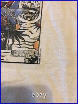 Vintage 1995 Grateful Dead Summer Tour T Shirt Large Turtles Sun Roses Rare