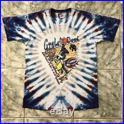 Vintage 1996 Grateful Dead Basketball T-shirt Anvil USA MADE VTG Tie Dye GDM 90s