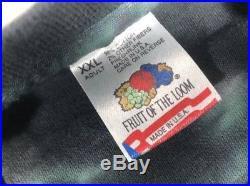 Vintage 1996 Tie Dye Grateful Dead Encounter Your Face Shirt Size Mens XXL