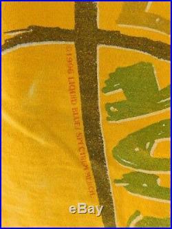 Vintage 1996 Tie Dye Grateful Dead Lithuania Olympic Basketball Team Tee T-Shirt