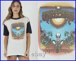 Vintage 70s Grateful Dead Griffin Concert Tour Psychedelic Rock Tee T Shirt