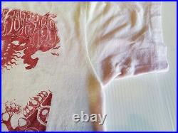 Vintage 70s Grateful Dead Shirt White And Pink Tie Dye Rock T-Shirt