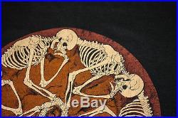 Vintage 80's Grateful Dead 1987 Fall Tour Rock Concert T-shirt S Rare