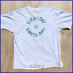 Vintage 80s GRATEFUL DEAD Rain Forest Earth Day RARE Parking Lot T-Shirt Tee XL