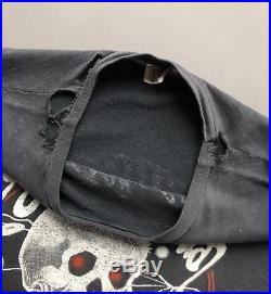Vintage 80s Grateful Dead On The Road Again 1980 Burnout T-Shirt Medium USA