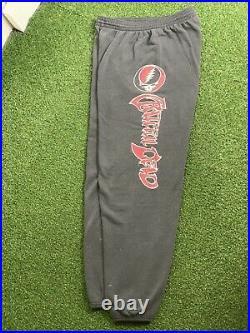 Vintage 90's Jerry Garcia 1995 Grateful Dead Sweatpants Size Large