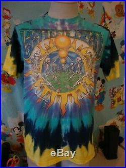 Vintage 90's The Grateful Dead Summer Tour 1991 Ty Dye T Shirt L