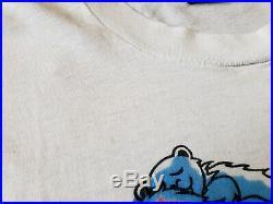 Vintage 90s Fashion Victim Shirt Grateful Dead Bear Spiral Sex Orgy Misprint