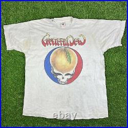Vintage 90s Grateful Dead 1994 Tour Concert T Shirt XL Atlanta Georgia Rare