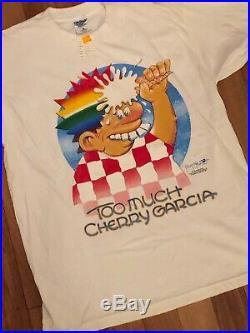 Vintage 90s Grateful Dead Band T-shirt size XL Too much Cherry Garcia 1997