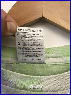 Vintage 90s Grateful Dead Cat In The Hat Long Sleeve Tye Dye Shirt Concert Tour