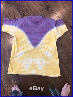 Vintage 90s Grateful Dead Jerry Garcia Tie Dye T Shirt Size XL