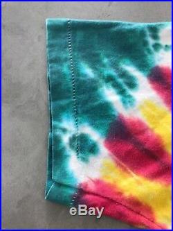 Vintage 90s Grateful Dead Lithuania 1992 Basketball Tie Dye T-Shirt Size M/L