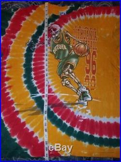 Vintage 90s Grateful Dead Lithuania Basketball T Shirt XL