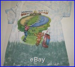 Vintage 90s Grateful Dead Shirt T Shirt 1994 Golf Ball Club Golfing PGA USA XL