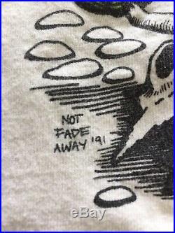 Vintage 90s Grateful Dead Summer Tour 1991 T Shirt XL Brockum USA Concert Tee