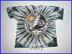 Vintage 90s Grateful Dead Summer Tour T-Shirt Size XL Tie-Dye 1994
