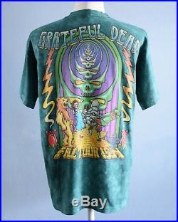 Vintage 90s Grateful Dead Tie Dye t shirt Fall Tour Concert 1994 Wizard of Oz XL