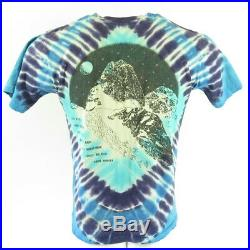 Vintage 90s Grateful Dead Vermont T-Shirt Medium Deadstock Tie dye