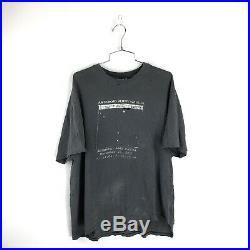 Vintage 90s Jerry Garcia Memorial T Shirt Size XL Asteroid Grateful Dead 1995