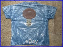 Vintage 93' Tie Dye Trippy Mushroom Man T-Shirt XL Psychedelic Grateful Dead