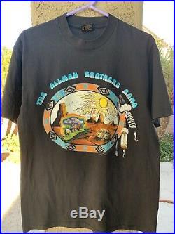 Vintage Allman Brothers Band shirt Grateful Dead Mushroom Floyd Govt Mule
