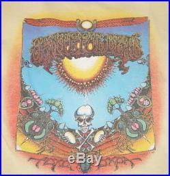 Vintage Aoxomoxoa Grateful Dead concert Tour Shirt Large Rare Rick Griffin 1969