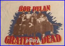 Vintage Bob Dylan Grateful Dead Alone Together Tour Shirt 80s 1987 Band