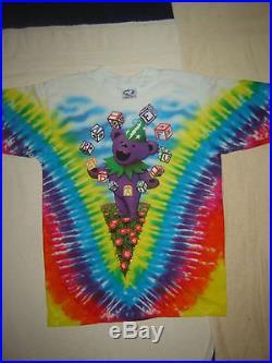 Vintage Concert T-shirt GRATEFUL DEAD 91 NEVER WORN NEVER WASHED JERRY GARCIA