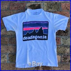 Vintage Deadagonia Grateful Dead Bootleg Parking Lot Tee Shirt Sz M