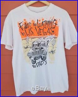 Vintage Fear And Loathing In Las Vegas T-shirt Single Stitch Men's Grateful Dead