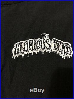 Vintage Flatbush Zombies Shirt The Glorious Dead Rare L Grateful Dead Skull