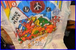 Vintage GRATEFUL DEAD 1991 WITHOUT A NET OPERATION DEAD TOUR Concert T-Shirt XL
