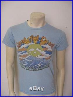 Vintage GRATEFUL DEAD Colorado 1980 High In The Rockies T Shirt Size MEDIUM