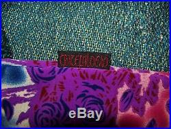 Vintage GRATEFUL DEAD PARADISE BERTHA Dragonfly Button Dress Shirt Sz XL Purple