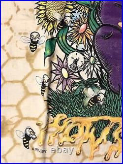 Vintage Geateful Dead How Sweet It Is 1996 Honey Print