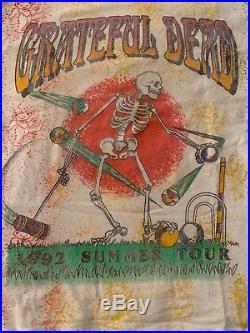 Vintage Grateful Dead 1992 Summer Tour with Steve Miller T Shirt XL