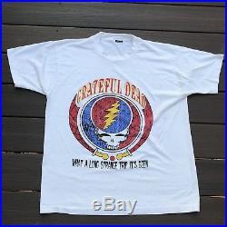 Vintage Grateful Dead 1993 Summer Tour shirt L, Rare lot tee