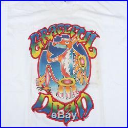 Vintage Grateful Dead 1995 Mike Shulman T-shirt Seattle Portland Jerry Garcia