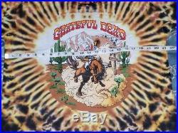 Vintage Grateful Dead 91 Summer Tour T-shirt Cowboy Bronco Deadstock