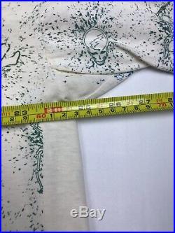Vintage Grateful Dead All Over Print Tee Shirt Summer Tour 1992 Size XL