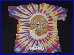 Vintage Grateful Dead April Fools Jack In The Box XL Tie Dye T-shirt G1511