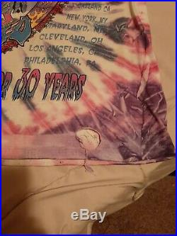 Vintage Grateful Dead Band T Shirt 1995 Spring Tour