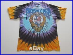 Vintage Grateful Dead Boston Garden tie dye t-shirt 1991 Celtics rock 90's M/L