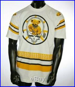 Vintage Grateful Dead Bruins Boston Fall 1994 Hockey Liquid Blue T-shirt XL